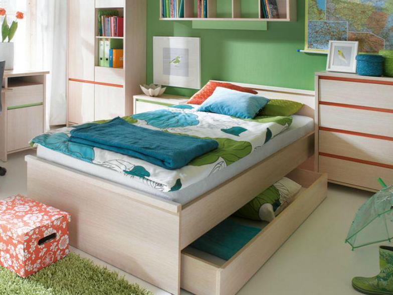 Jednolôžková posteľ - BRW - Numlock - LOZ/90